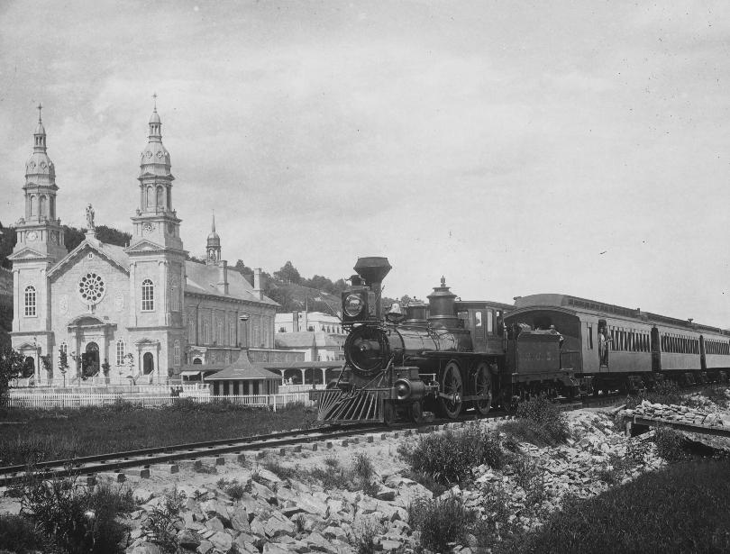 basilique-sainte-anne-train