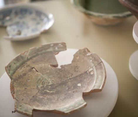 Un artefact dans l'exposition permanente sur les couvents de Château-Richer